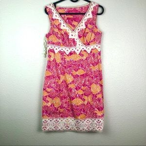 Lilly Pulitzer Bevery Hills Bubbly pink dress, 0